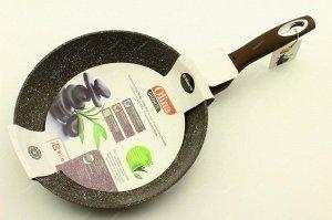 Сковорода 26см с гранитным, антипригарным покрытием.