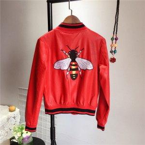 Куртка с вышивкой на спине Цвет: КРАСНЫЙ