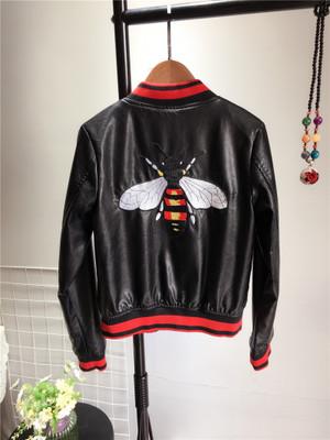 Куртка с вышивкой на спине Цвет: ЧЕРНЫЙ