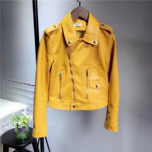Куртка-косуха Цвет: ЖЕЛТЫЙ