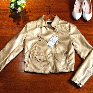 Куртка-косуха Цвет: ЗОЛОТИСТЫЙ