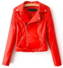 Куртка-косуха Цвет: КРАСНЫЙ