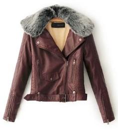 Теплая куртка-косуха с меховым воротником Цвет: НА ВЫБОР