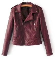 Куртка-косуха Цвет: БОРДО
