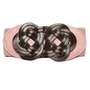 FB-1128-63 розовый ремень Fancy's bag