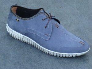 мужские туфли темно-синие