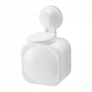 СТУГВИК Дозатор д/жидкого мыла, на присоске, белый