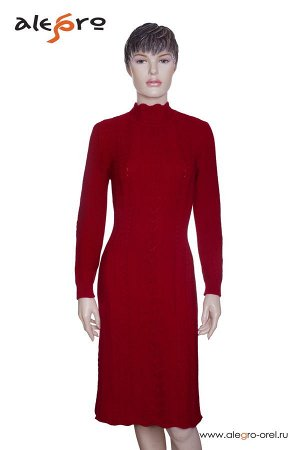 вязаноеплатье