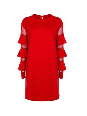 Итальянское платье р46-48, серое