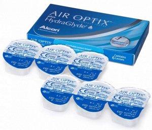 1-мес контактные линзы AirOptix Plus HydraGlyde 6 линз