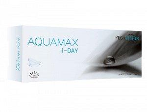 Однодневные контактные линзы (PEGAVISION) AQUAMAX 1-DAY (30 линз)