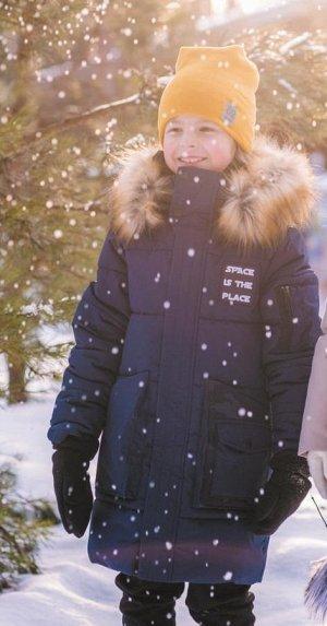 Пальто для мальчика зимнее марки BOOM компании ORBY
