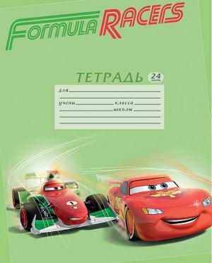Обложки для тетрадей 5 шт Cars