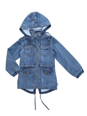 Куртка джинсовая для девочек (парка)