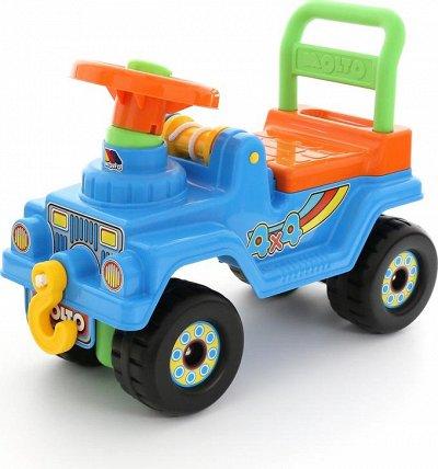 Полесье. Любимые игрушки из пластика. Игровые комплексы — Каталки — Транспорт