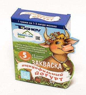 Toshev Ацидофильный Йогурт