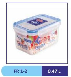 Контейнер пластиковый 0,47 л FR 1-2
