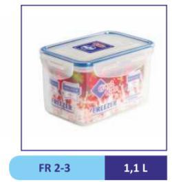 Контейнер пластиковый 1,0 л FR 2-3 (40)