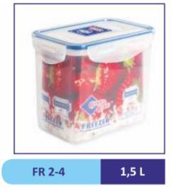 Контейнер пластиковый 1,5 л FR 2-4 (24)