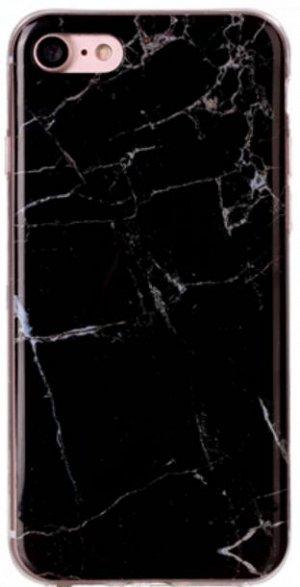 Чехол силиконовый мрамор Huawei