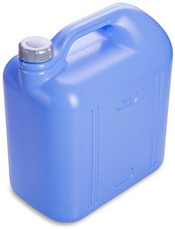 Канистра Канистра 20,0л [ПРОСПЕРО]. Пластиковые канистры подходят как для хранения, так и для транспортировки практически любых жидких и сыпучих продуктов. Плотно закручивающаяся крышка надежно защити