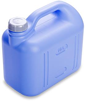 Канистра Канистра 10,0л [ПРОСПЕРО]. Пластиковые канистры подходят как для хранения, так и для транспортировки практически любых жидких и сыпучих продуктов. Плотно закручивающаяся крышка надежно защити