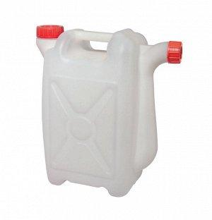 Канистра Канистра 25,0 л со сливом. Размеры изделия: Д / Ш / В  400 /200 /470  мм. Канистра изготовлена из прочного пищевого пластика и предназначена для транспортировки и хранения пищевых жидкостей.