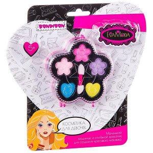 Подарочный набор для девочек Цветок с тенями для век Bondibon EvaModa