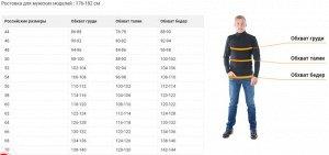 Ростовка для мужских моделей : 176-182 см