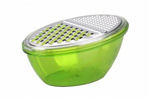 Терка Тёрка №2 (зелёный). Размеры изделия: Д /Ш /В   170 /100 /80 мм. Благодаря внешнему дизайну тёрка выглядит очень эстетично и будет хорошо смотреться с любой кухонной утварью. Тёрку можно использо