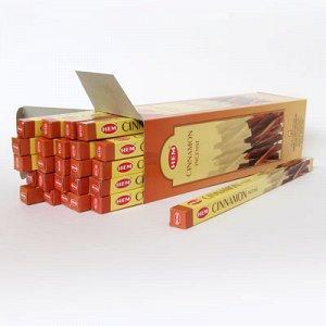 Благовония HEM, четырехгранники, Cinnamon (Корица)