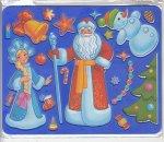 """Трафарет """"Новогодний праздник"""""""