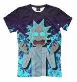 Мужская футболка   Рик Санчез, Коллекция Rick and Morty