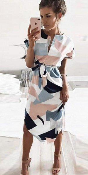 Стильное платье р. 46-50