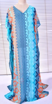 Пляжная туника в пол с боковыми разрезами Цвет: НА ФОТО