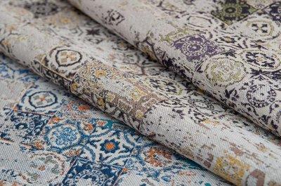 Обивка №29💎 Мебельные ткани и Кожзам (+комплектующие) — Мебельная ткань VALENCIA (Жаккард) — Покрывала
