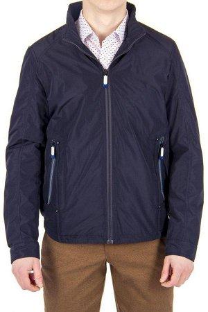 Куртка дем чёрно-синяя