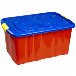 Ящик детский д/игрушек 72,0л 600*400*300мм на колёсах
