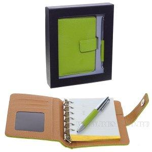 Записная книжка с ручкой, набор, L17 W20 H5 см