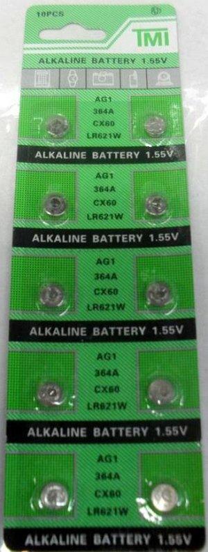 Батарейка AG1, LR621W