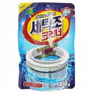 KR/ SANDOKKAEBI Очиститель д/стиральных машин, 450гр./ ПЭТ уп-ка