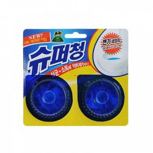 SANDOKKAEBI Очищающая таблетка для унитаза SUPER CHANG, 2шт*40г