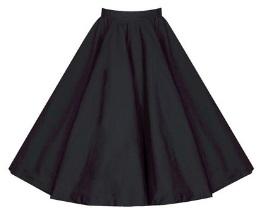 Винтажная юбка Цвет: ЧЕРНЫЙ