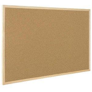 Пробковая доска 600*900 с деревянной рамкой