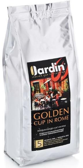Кофе Жардин зерно жар. 1000г 1/6  Голден Кап Ин Рол для Horeka