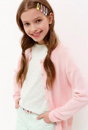 Жакет детский для девочек Marzipan светло-розовый