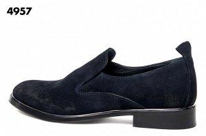 Итальянские ботинки замшевые черные 25 см
