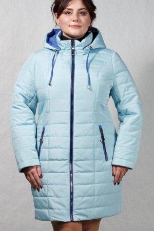 демисизонная куртка темно- синяя