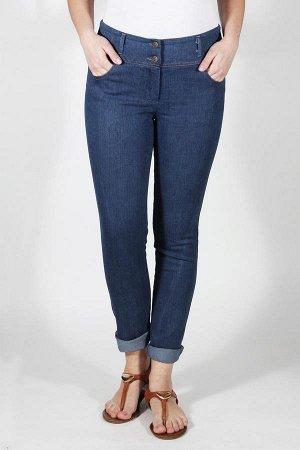 Брюки синий джинс
