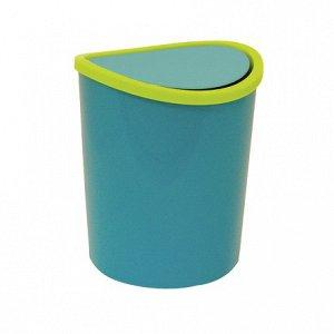 Контейнер д/мусора 1,6 л настольный Металлик
